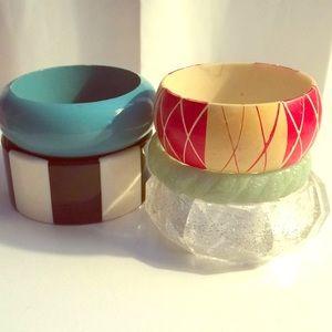 Jewelry - Vintage Bangle Bracelets Rockabilly 1950s